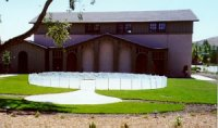 Photo of labyrinth setting at Peace Lutheran Church in Danville, CA.