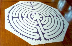 Photo of canvas Petite Chartres labyrinth